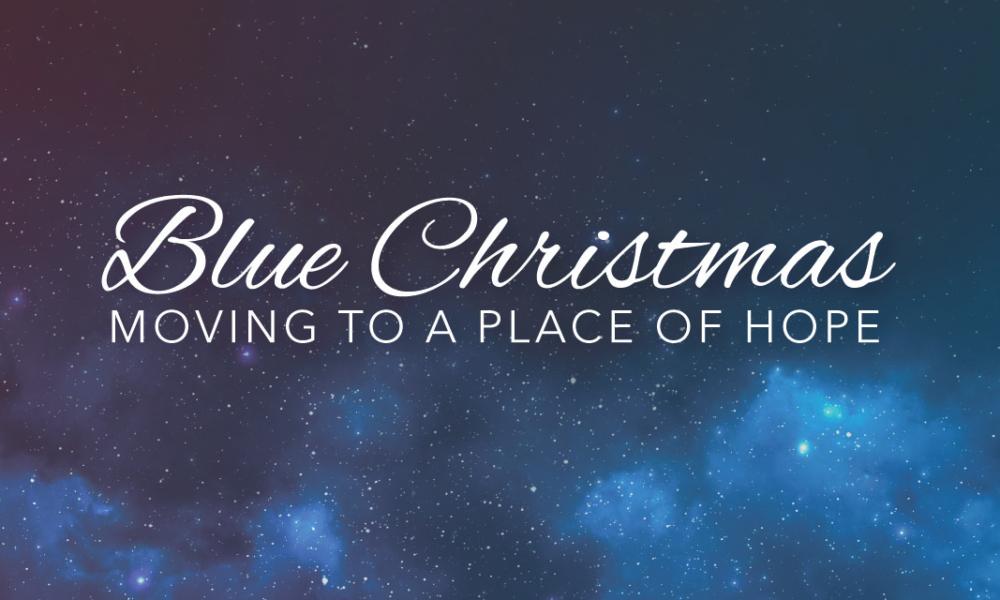 Blue Christmas Reflection