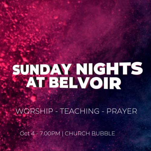 Sunday Nights at Belvoir
