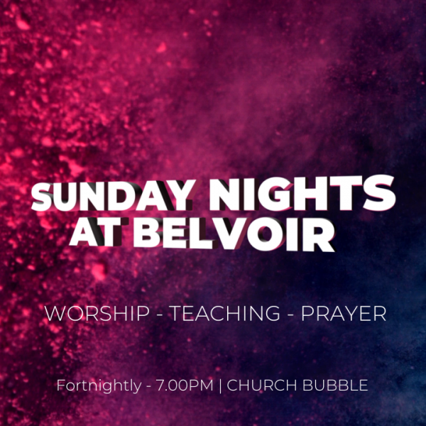Sunday Nights at Belvoir | 18 October