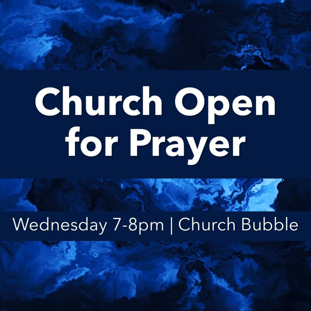 Church Open for Prayer