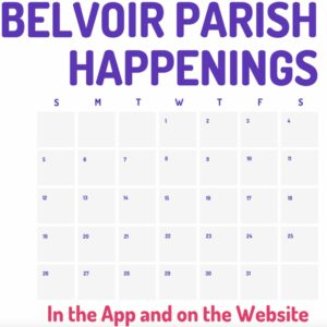 Belvoir Parish Happenings