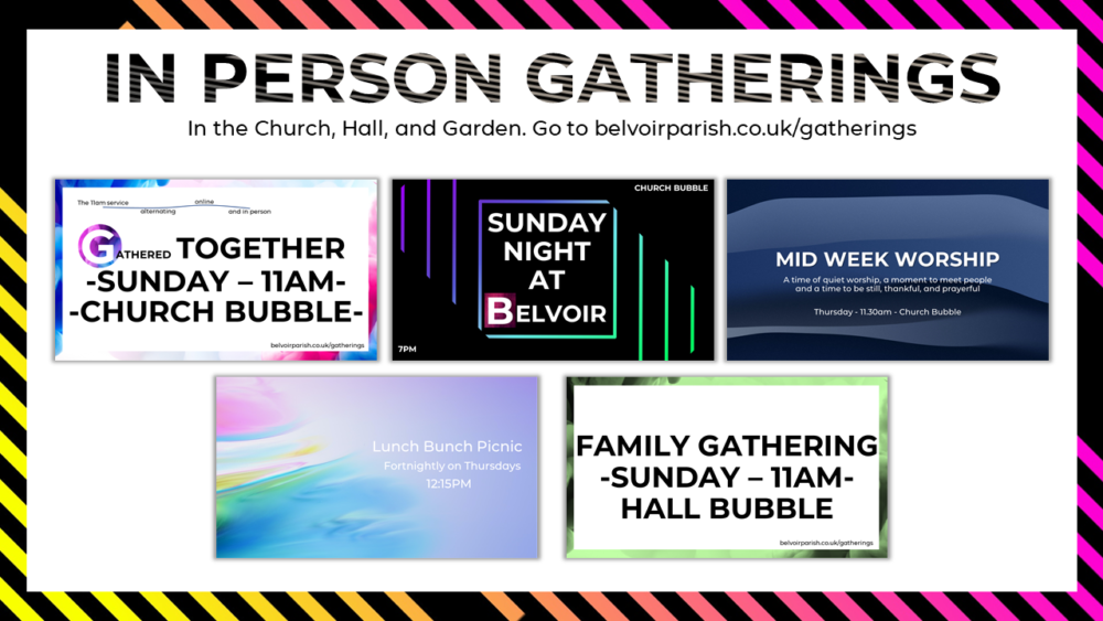 In-Person Gatherings